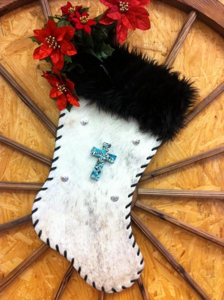 Western Christmas Stockings, Boot Xmas Stockings, Rodeo Chap ...
