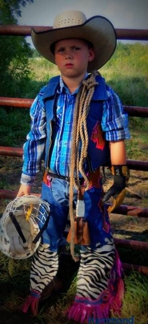 Youth Bull Riding Chaps, Mutton Bustin' Chaps, Steer Riding Chaps