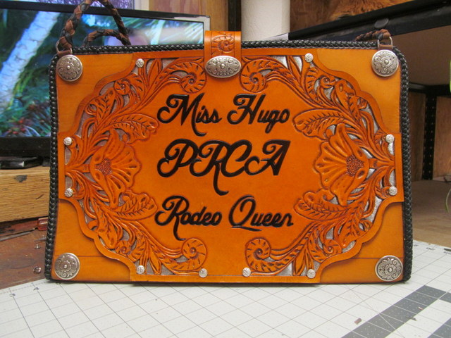 Custom Autograph/Briefcase,Rodeo Queen Chaps,Royalty Chaps